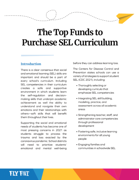 Funding for SEL Curriculum image